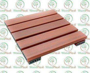 Deck 50x50 em madeira plástica